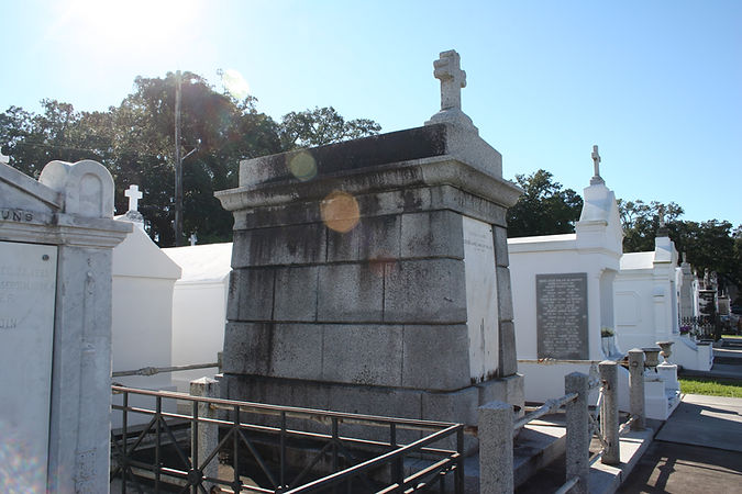 New Orleans cemetery restoration, tomb restoration, tomb repair, cemetery repair cleaning painting