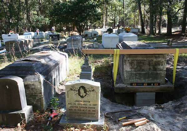 New Orleans LA cemetery repair