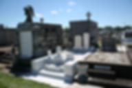 New Orleans cemetery repair, tomb restoration tomb repair grave cleaning painting
