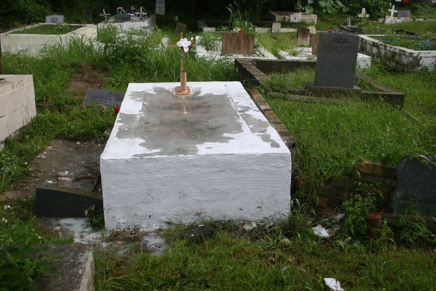 New Orleans cemetery tomb repair restoration grave cleaning painting headstone