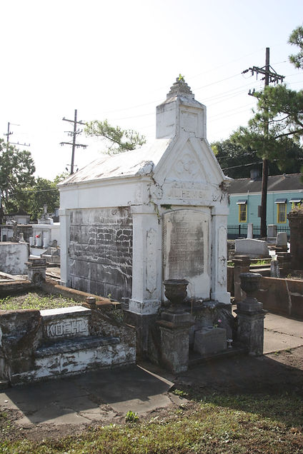 New Orleans cemetery repair tomb restoration cleaning painting service