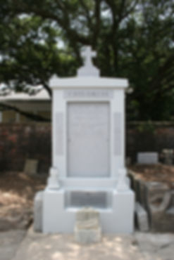 New Orleans Cemetery Repair Tomb Grave Cleaning Painting