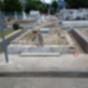 New Orleans cemetery repair, tomb restoration, tomb repair grave cleaning painting headstone repair