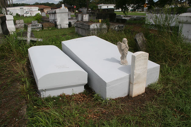 New Orleans Cemetery Repair Tomb Grave Restoration
