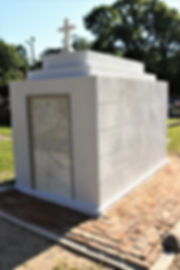 New Orleans tomb restoration, cemetery repair, cemetery restoration, tomb repair, New Orleans tomb grave cleaning painting