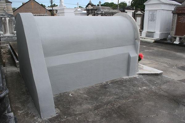 Louisiana cemetery repair tomb restoration