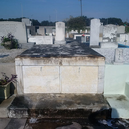 New Orleans cemetery repair, tomb restoration, cemetery restoration, tomb repair, cleaning painting renovation