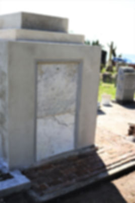 New Orleans cemetery repair, tomb restoration, tomb repair, cemetery restoration, tomb grave cleaning painting, cemetery renovation