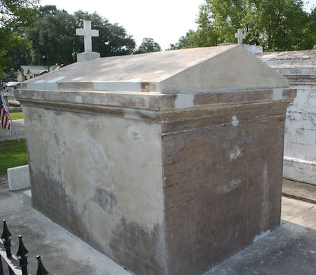 New Orleans Cemetery Repair Tomb Restoration Painting Cleaning