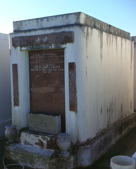 New Orleans cemetery tomb repair restoration