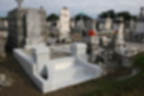New Orleans tomb restoration cemetery repair tomb painting cleaning