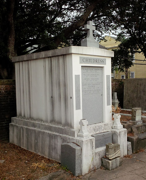 New Orleans cemetery repair tomb grave restoration painting cleaning