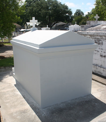cemetery tomb repair cleaning painting restoration