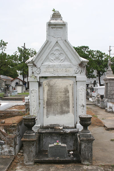 New Orleans Cemetery Tomb Restoration Repair Cleaning Painting
