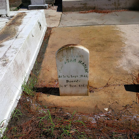 New Orleans cemetery restoration tomb repair preservation grave cleaning painting refurbishing