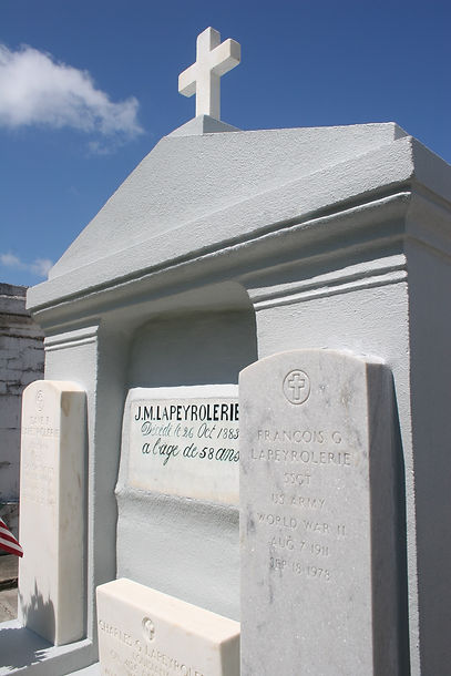 New Orleans Louisiana cemetery repair painting cleaning tomb restoration