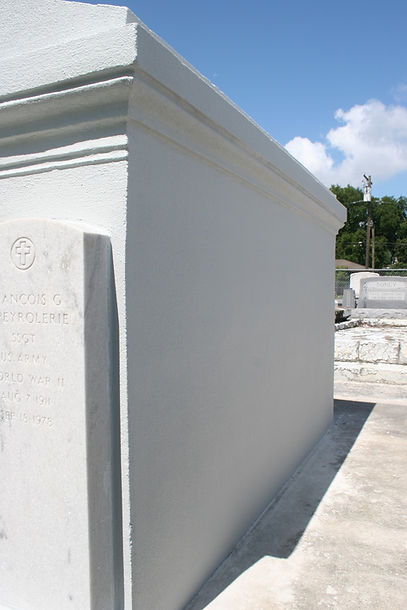 Cemetery repair tomb grave restoration cleaning painting