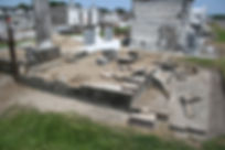New Orleans cemetery repair, tomb restoration, tomb repair, cemetery restoration, tomb grave cleaning painting