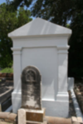 new orleans cemetery repair restoration cleaning painting service