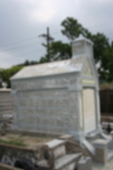 New Orleans Louisiana cemetery repair restoration cleaning painting services
