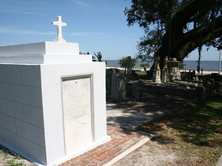 Newly restored tomb honors 'Hero of Cat Island' and descendants
