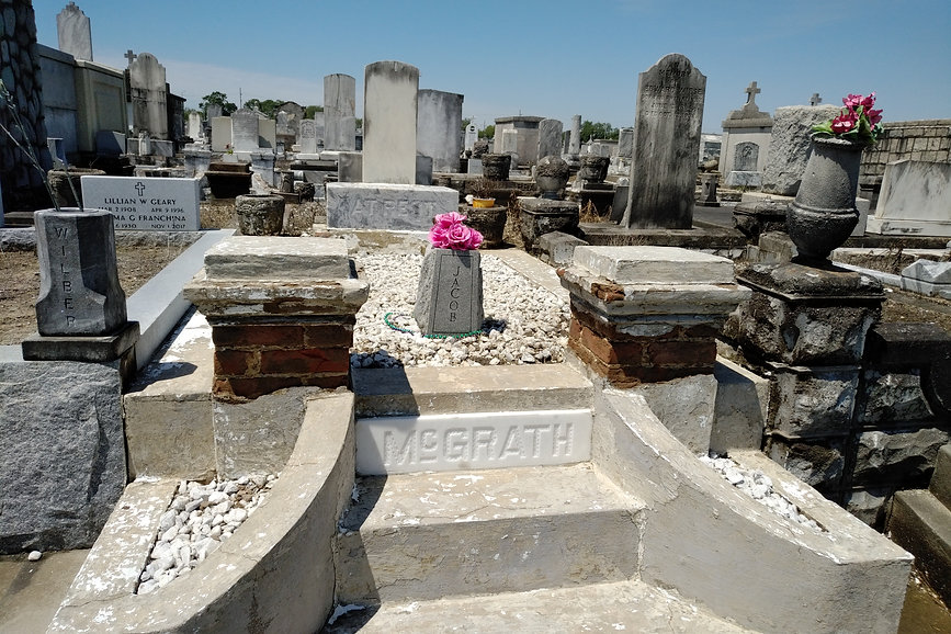 New Orleans cemetery restoration, tomb repair, cemetery repair, tomb restoration, New Orleans grave, tomb cleaning painting, renovation, maintenance