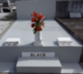 New Orleans cemetery maintenace, painting, repair, flowers, cleaning