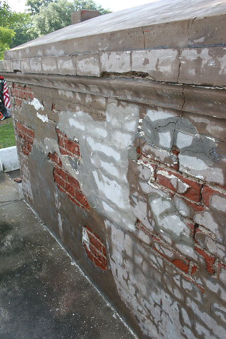 New Orleans Cemetery Restoration Repair grave tomb cleaning