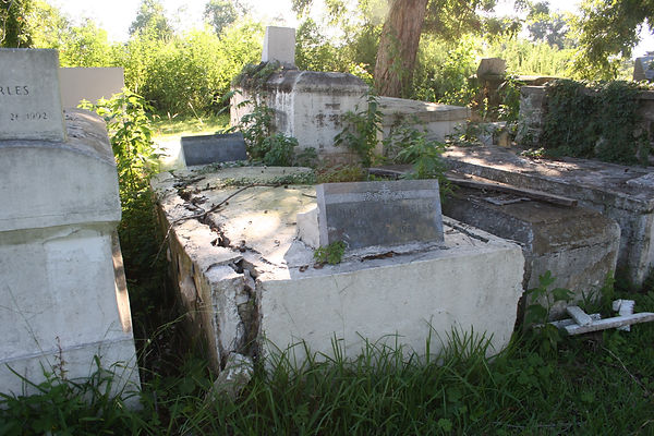 New Orleans cemetery repair tomb restoration cleaning painting