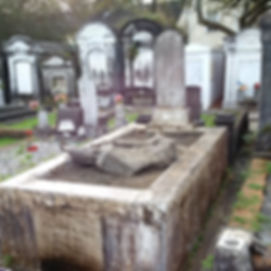 New Orleans tomb restoration, cemetery restoration, tomb repair, cemetery cleaning painting