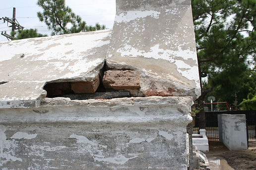 New Orleans cemetery repair restoration cleaning painting services