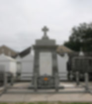 New Orleans tomb restoration, tomb repair, cemetery cleaning painting