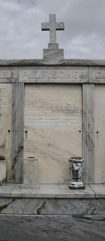New Orleans cemetery repair tomb restoration