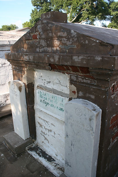 New Orleans Louisiana tomb restoration repair