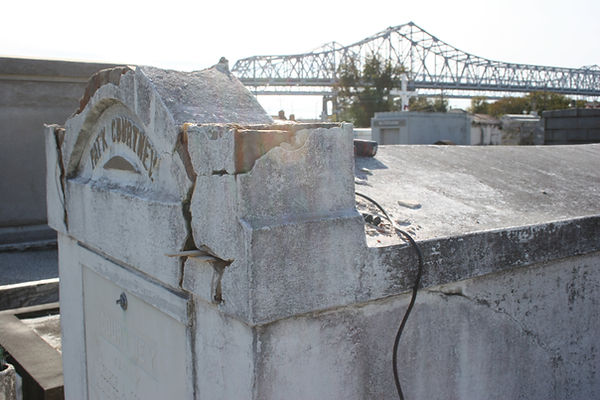New Orleans cemetery restoration