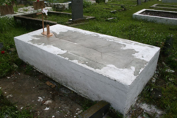 New Orleans cemetery tomb grave repair restoration cleaning painting