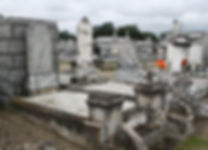 New Orleans tomb restoration repair cemetery repair cleaning painting
