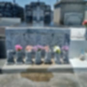 New Orleans cemetery repair, tomb restoration, tomb repair, cemetery restoration, grave cleaning painting