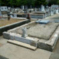 New Orleans tomb repair, cemetery repair, tomb restoration, grave cleaning painting headstone repair