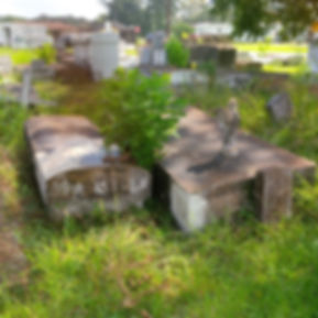 New Orleans cemetery repair tomb cleaning painting restoration
