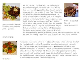 The Big Apple, NY - A Culinary Escape 2