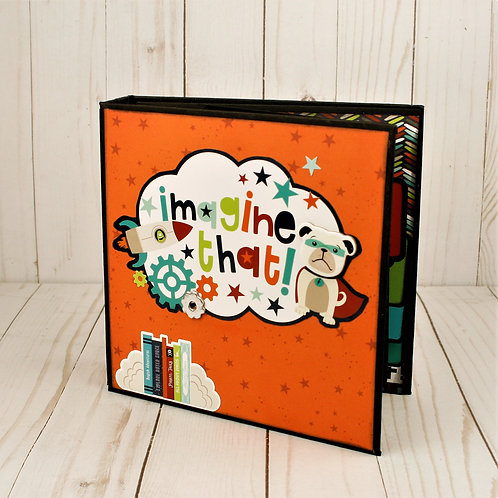 Imagine That! Mini Album for Photos and Journaling