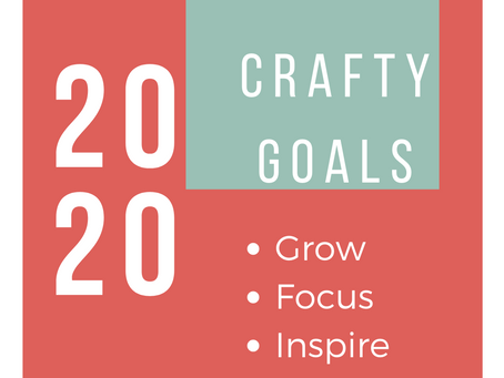 How to set Crafty Goals for 2020