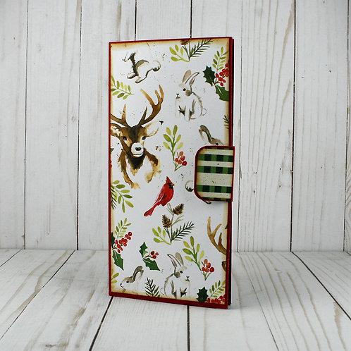 "Christmas Planner ""Cardinal/Deer"""