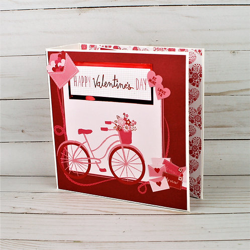 Valentine's Day Mini Album and Interactive Scrapbook Mini Album