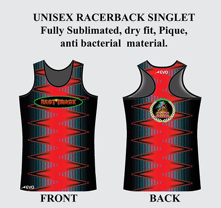 UNISEX COMPETITION SINGLET