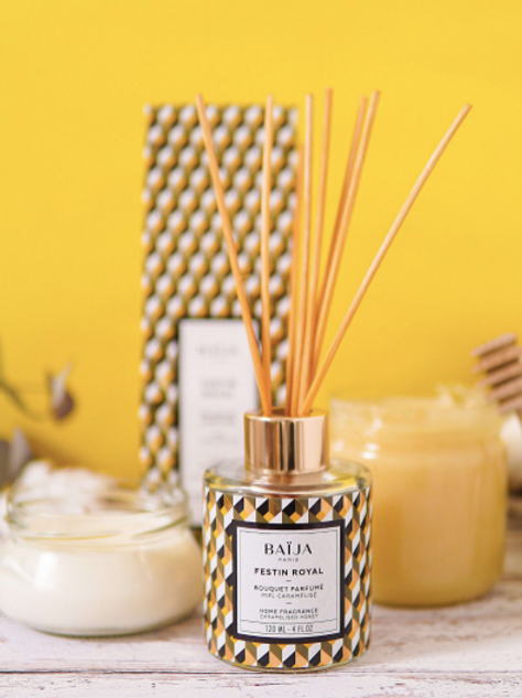 Recharge bouquet parfumé - Miel caramel