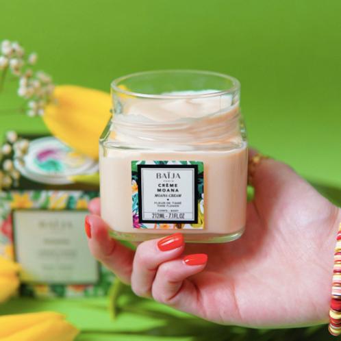 Crème corps - Fleur de tiaré