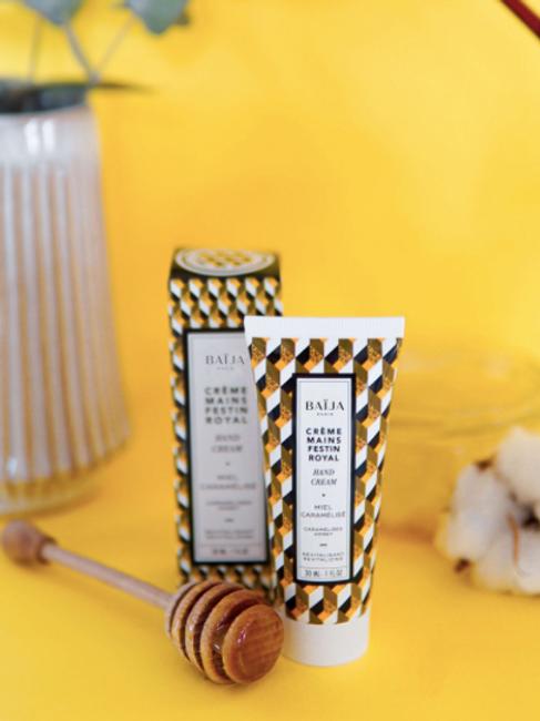 Crème mains - miel caramel
