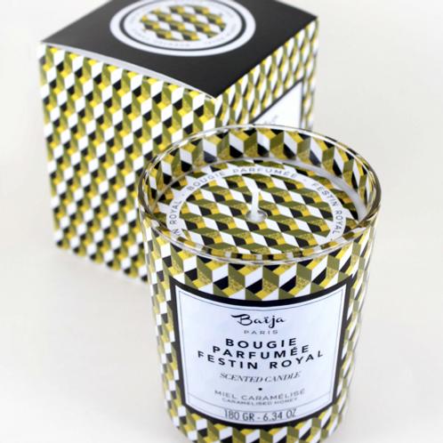 Bougie parfumée - Miel caramel